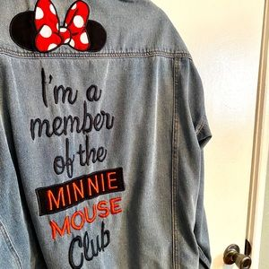 Minnie Mouse Club Denim Jacket